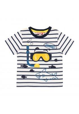 """Camiseta punto """"tiburones"""" de bebé niño Boboli modelo 302049"""
