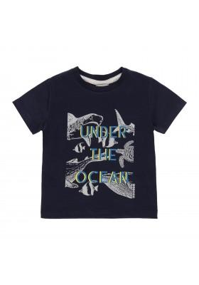 "Camiseta punto ""peces"" de bebé niño Boboli modelo 302184"