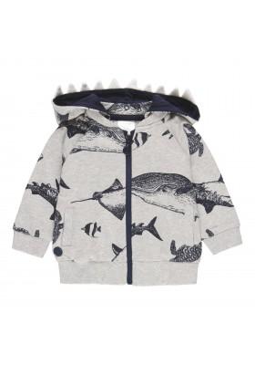 """Chaqueta felpa """"tiburones"""" de bebé niño Boboli modelo 302151"""