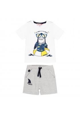 "Pack punto ""tiburón"" de bebé niño Boboli modelo 302117"