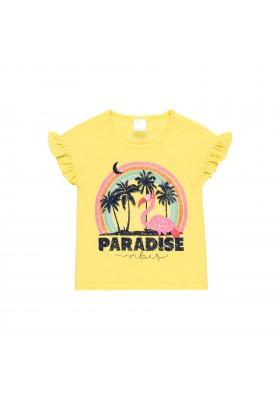 """Camiseta punto """"flamenco"""" de niña Boboli modelo 422132"""