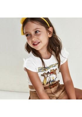 Camiseta manga corta grupo niñas Mayoral para niña modelo 3007