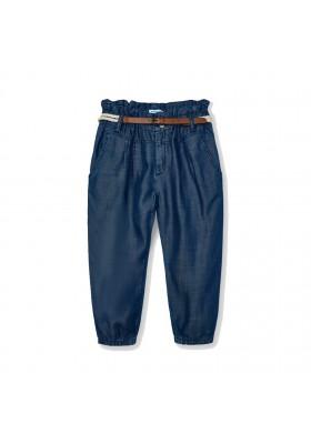 Pantalon largo fluido cinturo Mayoral para niña modelo 3552