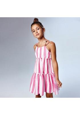 Vestido tirantes rayas Mayoral para niña modelo 6947