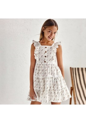 Vestido estampado tirantes Mayoral para niña modelo 6941