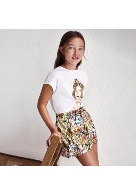 Falda pantalon estampada Mayoral para niña modelo 6911