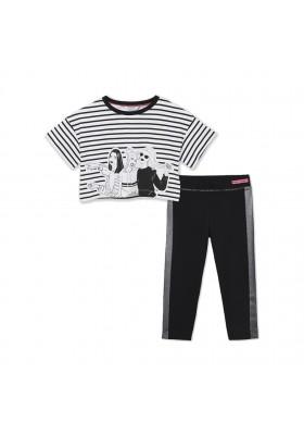 Conjunto leggings rayas niña Mayoral para niña modelo 6731
