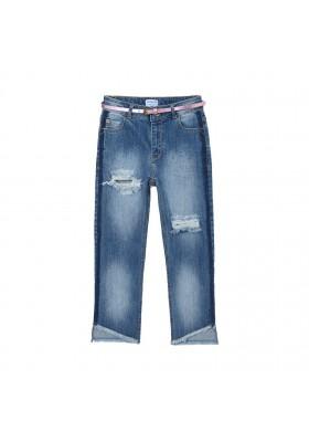 Pantalon slim cropped tejano Mayoral para niña modelo 6545