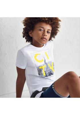 """Camiseta manga corta """"city"""" Mayoral para niño modelo 6093"""