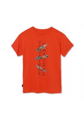 "Camiseta manga corta ""tropical skater Mayoral para niño modelo 6090"