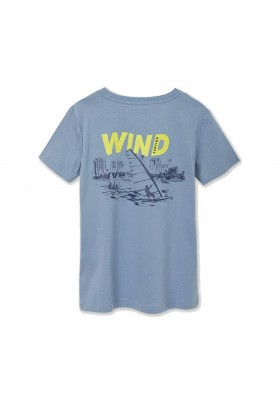 "Camiseta manga corta ""surfing"" Mayoral para niño modelo 6081"