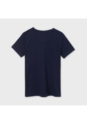 "Camiseta manga corta ""wave"" Mayoral para niño modelo 6080"