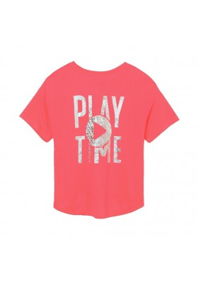 Camiseta manga corta play time Mayoral para niña modelo 6019