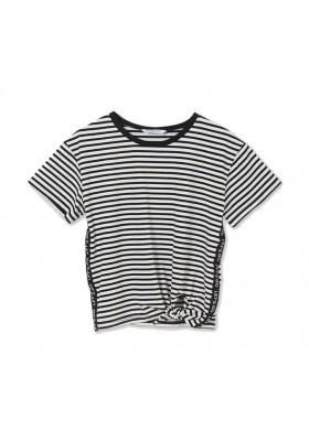 Camiseta manga corta nudo Mayoral para niña modelo 6017