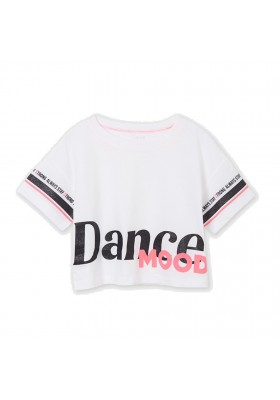 Camiseta manga corta dance mood Mayoral para niña modelo 6016