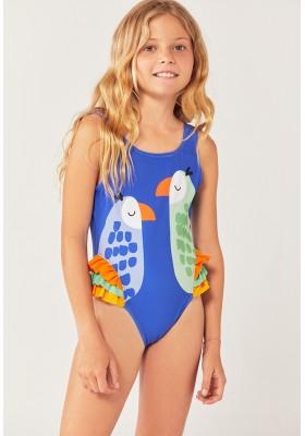 Bañador poliamida con volantes de niña Boboli modelo 822046