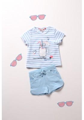 Pack punto listado de bebé niña Boboli modelo 212139