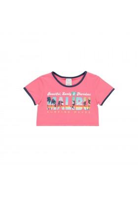 "Camiseta punto ""surfing"" de niña Boboli modelo 422165"