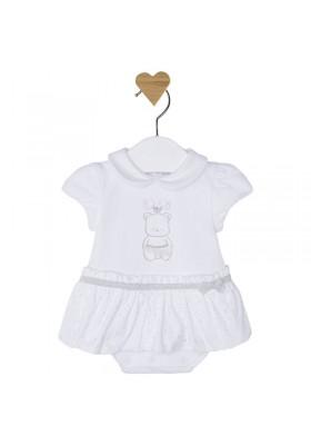 Vestido pelele bebe niña MAYORAL