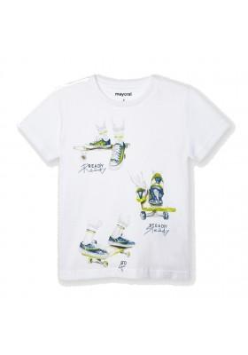 "Camiseta manga corta ""ready"" Mayoral para niño modelo 3043"