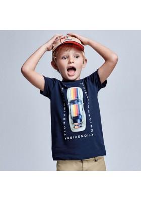 Camiseta manga corta coche Mayoral para niño modelo 3039