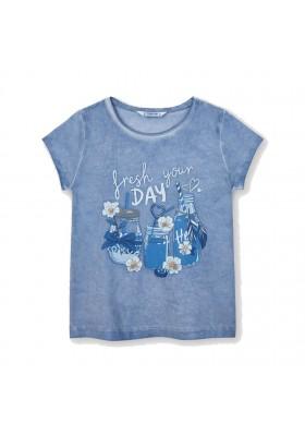 Camiseta manga corta Mayoral para niña modelo 3015