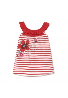 Vestido punto serigrafia Mayoral para bebe niña modelo 1992