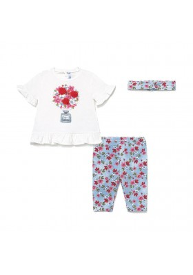 Conjunto leggings efecto denim Mayoral para bebe niña modelo 1713