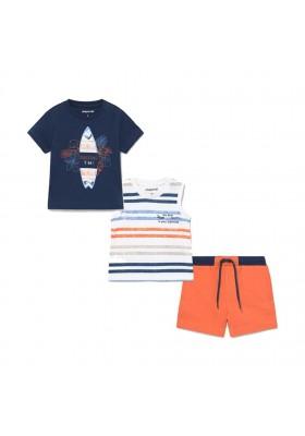 Conjunto punto 3 piezas surf Mayoral para bebe niño modelo 1672