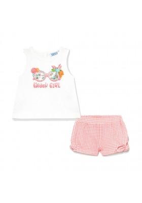 Conjunto Short Mayoral para bebe niña modelo 1231