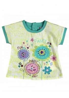 Camiseta manga corta bebe niña BOBOLI - 238058
