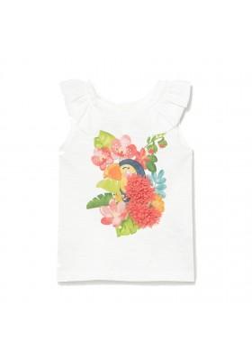 Camiseta manga corta tucan Mayoral para bebe niña modelo 1083
