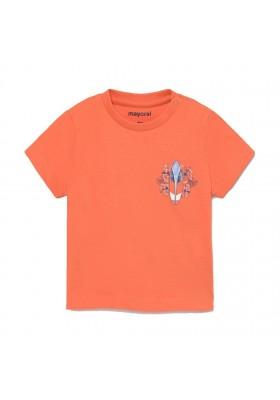 Camiseta manga corta surf Mayoral para bebe niño modelo 1012