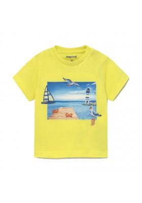 Camiseta manga corta puerto Mayoral para bebe niño modelo 1009