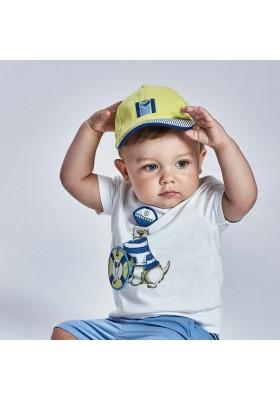 "Camiseta manga corta ""play"" perros Mayoral para bebe niño modelo 1007"