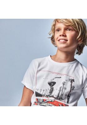 "Camiseta manga corta ""tropical"" Mayoral para niño modelo 6092"