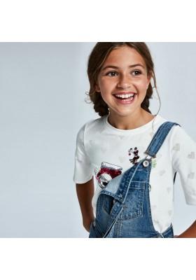 Camiseta devore lentejuelas Mayoral para niña modelo 6008