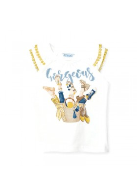 Camiseta tirantes cesto Mayoral para niña modelo 3023