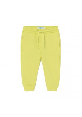 Pantalon felpa basico puños Mayoral para bebe niño modelo 711