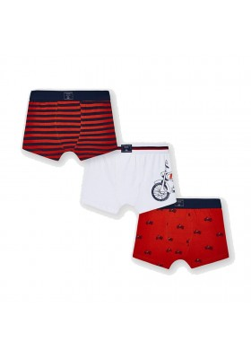 Set 3 boxer bicicleta Mayoral para niño modelo 10042