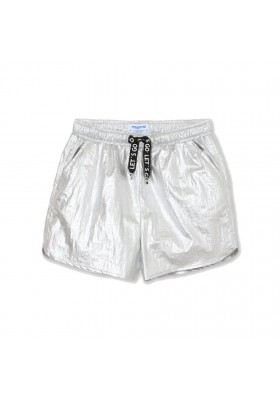 Pantalon corto metalizado Mayoral para niña modelo 6275