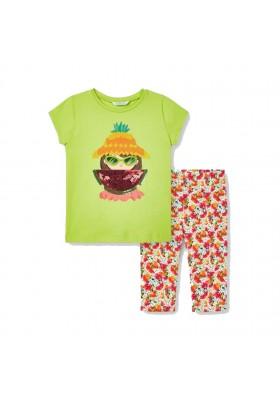 Conjunto leggings estampado Mayoral para niña modelo 3741