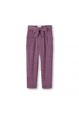 Pantalon estampado fluido Mayoral para niña modelo 3558