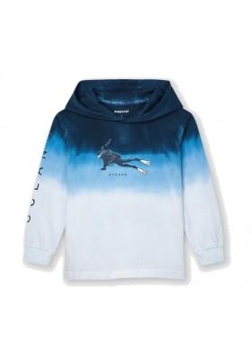 Camiseta m/l dip dye Mayoral para niño modelo 3054