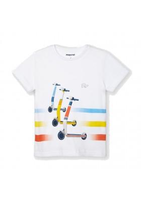 Camiseta manga corta patinete Mayoral para niño modelo 3037
