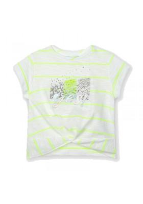 Camiseta manga corta nudo Mayoral para niña modelo 3018