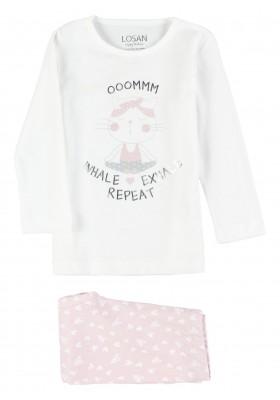 pijama de manga larga con print Losan para niña modelo 116-P000AL