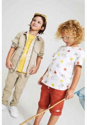 camiseta de manga corta estampada Losan para niño modelo 115-1012AL