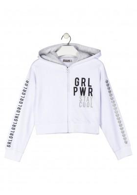 chaqueta de felpa no perchada Losan para niña modelo 114-6680AL