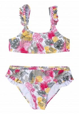 bikini estampado Losan para niña modelo 114-4006AL